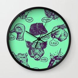 Pet Sounds Wall Clock