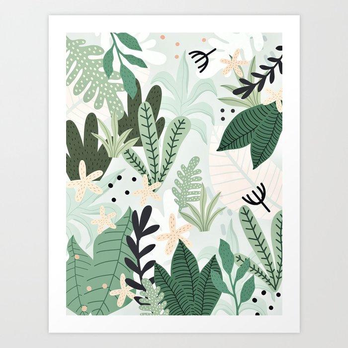 Into the jungle II Kunstdrucke