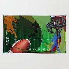 Football Rug