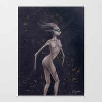 baphomet Canvas Prints featuring Baphomet by V Holecek