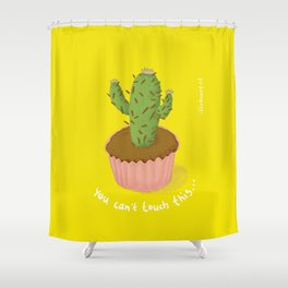 prickly seduction Shower Curtain