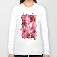 sparkles Long Sleeve T-shirts featuring Sexy Sparkles by Joke Vermeer
