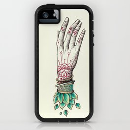 Crystal Hands iPhone Case