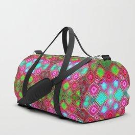 Pastel Tie Dye Geodes Duffle Bag