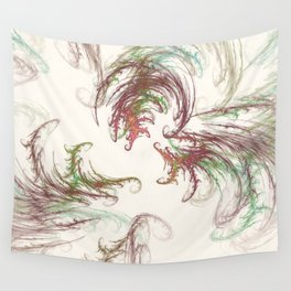 Harvest Winds Fractal Wall Tapestry
