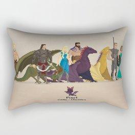 Mhysa's Gang Rectangular Pillow