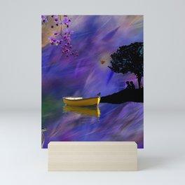 Purple Mist Mini Art Print
