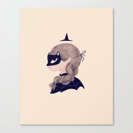 Cat Face Canvas Print