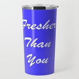Fresher Thank You : Periwinkle Travel Mug