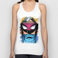 comic book Tank Tops featuring Comic by Molnár Roland