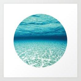 Under Water 9 Art Print