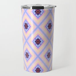 Diamonds Of Sunset Travel Mug