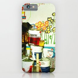 painting 1986 iPhone Case