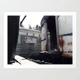 Tex's Train Art Print