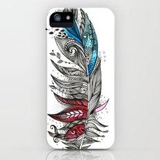 Garden Feather iPhone (5, 5s) Slim Case