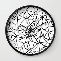 dots Wall Clocks featuring Dots by Project M