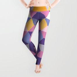 Violet Pattern Leggings