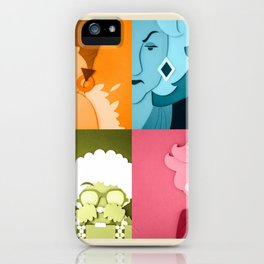 The Golden Girls Abstract iPhone Case
