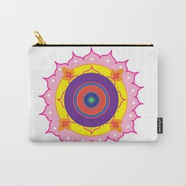 Mandala Pink Carry-All Pouch