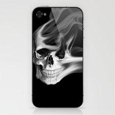 Smokin Skull iPhone & iPod Skin