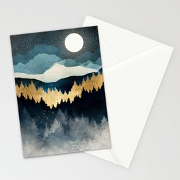 Indigo Night Stationery Cards