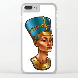 Nefertiti's Quest : Nefertiti Clear iPhone Case
