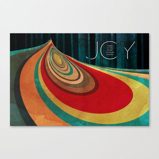 JOY... Canvas Print