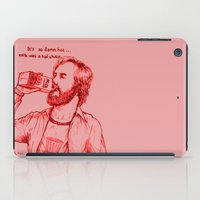 anchorman iPad Cases featuring Anchorman: Milk was a Bad Choice by Red Misery
