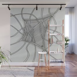 Tangled Net Wall Mural