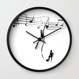 TANAN (Fighting for Love) Wall Clock