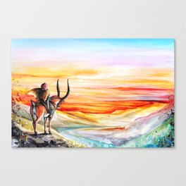"""Sunset"" Canvas Print"