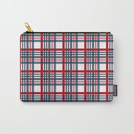 Plaid pattern Carry-All Pouch
