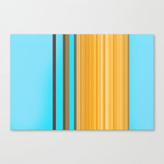 Sablo Lio Blue Yellow Canvas Print