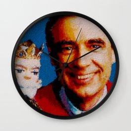 Mr. Rogers & King Friday Wall Clock