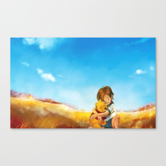 Everything is Right Canvas Print