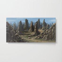 Rocks of Prayer Metal Print