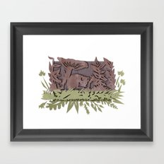 Sleeping Mouse Framed Art Print