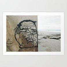 beach art  Art Print
