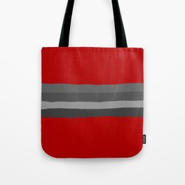 Abstract Grey Lines Tote Bag