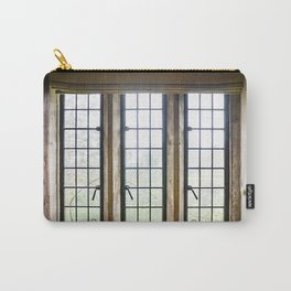 English Countryside Window Carry-All Pouch