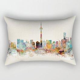 Toronto Ontario skyline Rectangular Pillow