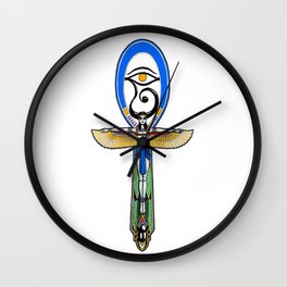 Isis Ankh Wall Clock