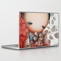 flower of life Laptop & iPad Skins featuring Flower of Life by P a o P a o .