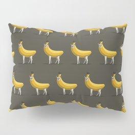 Bananas About Llamas Pattern Pillow Sham