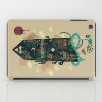 noir iPad Cases featuring The Ominous and Ghastly Mont Noir by Hector Mansilla