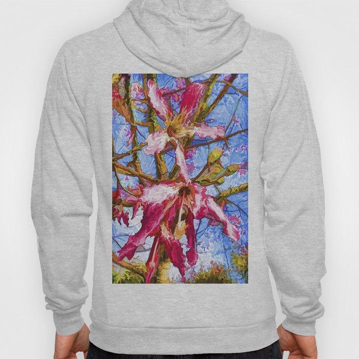 Tropical Flowers Design  Hoody