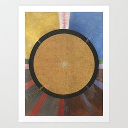 Hilma Af Klint Altarpiece No 3 Art Print