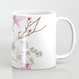 Floral bouquet in white Coffee Mug