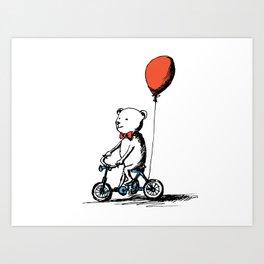 Tricycle Art Print