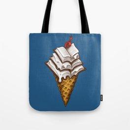 Ice Cream Books Tote Bag